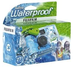 appareil photo jetable et étanche